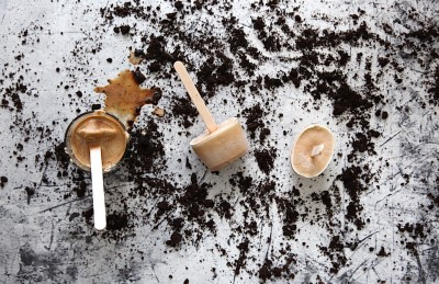 Gelato al caffè 3 ingredienti senza gelatiera