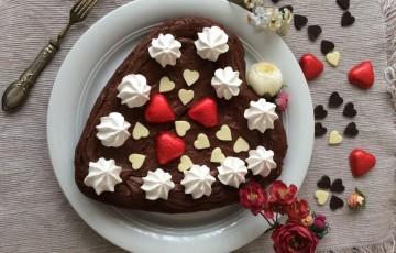 Cuore fondente al cioccolato e burro salato