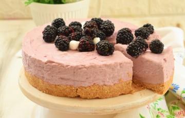 Mousse Cake alle more (con skyr)