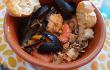Zuppetta di pesce dell'Adriatico