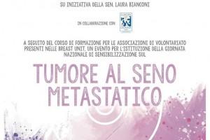 Per una giornata dedicata al tumore al seno metastatico