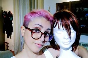 Fumetti e ironia, le armi di Isabella contro il cancro al seno