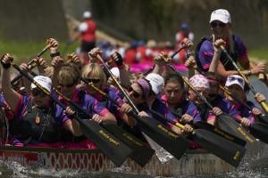 Draghi e canoe: il festival del Dragon Boat in mostra a Firenze