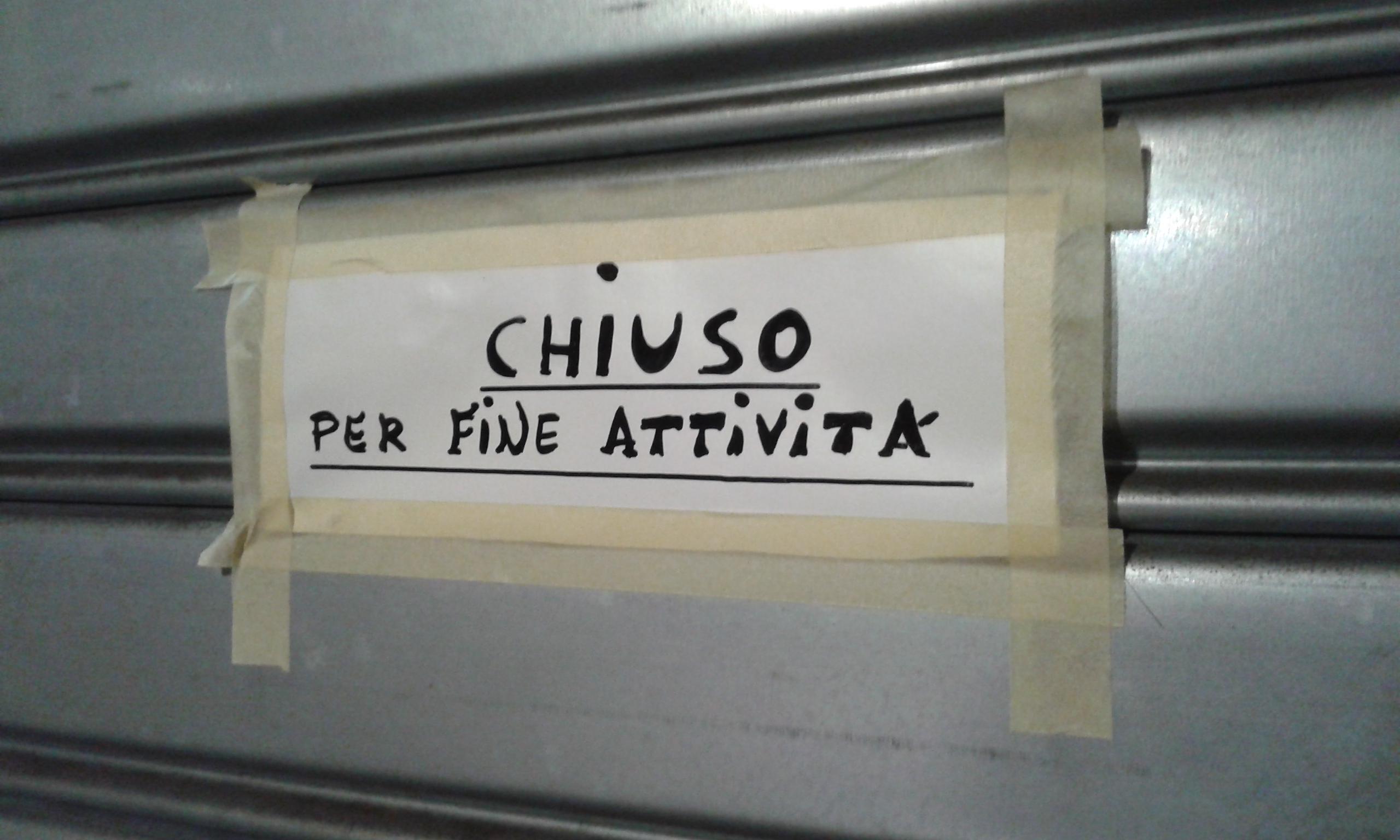 Negozio chiuso | La Mia Foto - Repubblica@SCUOLA - Il giornale web ...