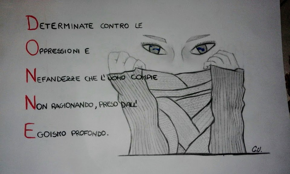 Disegno Sulla Violenza Sulle Donne.La Violenza Contro Le Donne Il Mio Disegno Repubblica