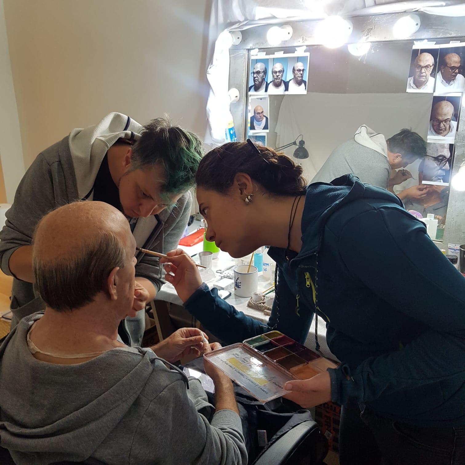 Federica Castelli, Andrea Leanza e pierfrancesco Favino