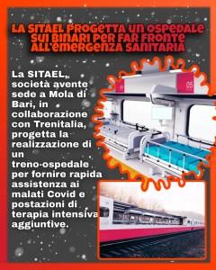 Metodi alternativi per far fornte all'emergenza Covid! #trenoospedale #SITAEL #wearyourmask