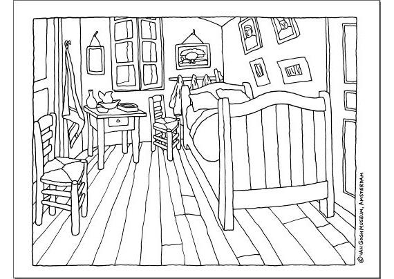 Camera Da Letto Van Gogh. Simple Prezzo Speciale Vicent Van ...