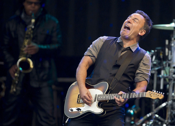 Bruce Springsteen performs in Munich