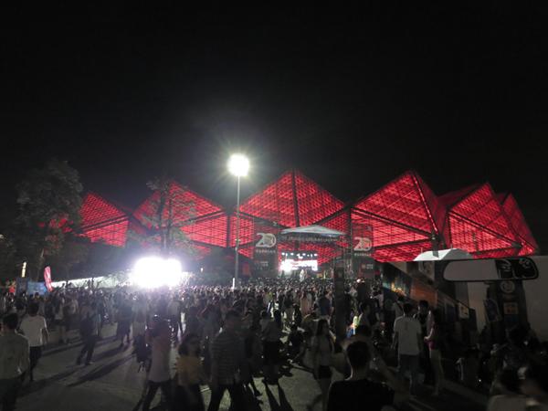 midi festival stage