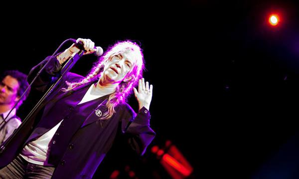 Patti Smith a Carroponte foto di Elisabeth Petrone