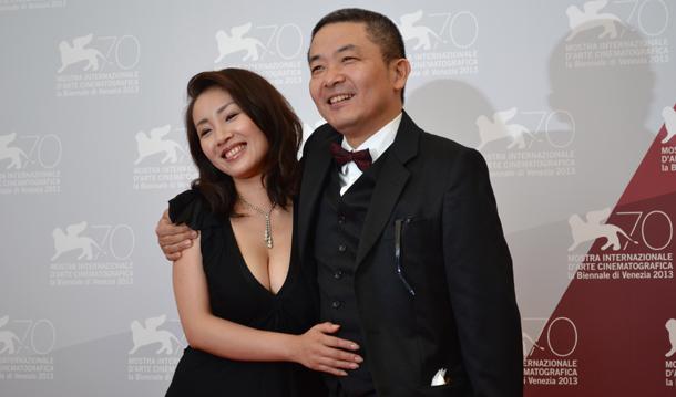 Megumi Kagurazaka e Sion Sono - Foto di Martina Cestrilli