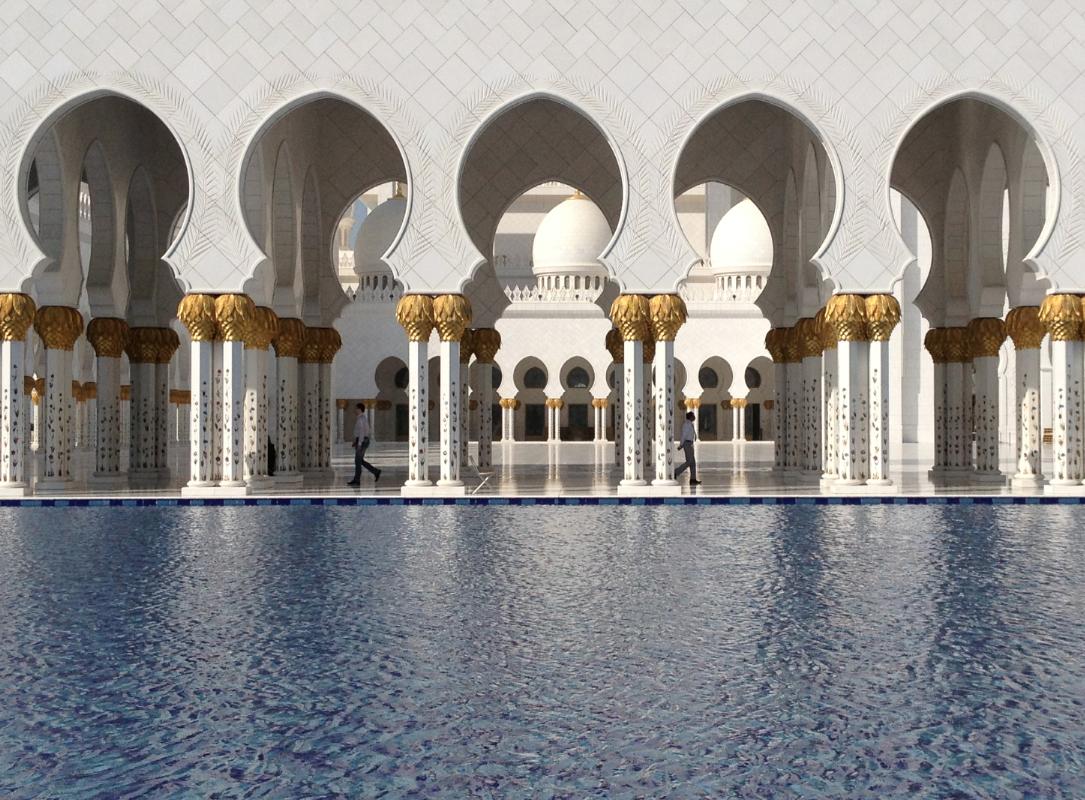 grande moschea abu dhabi