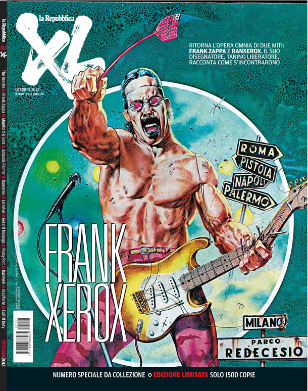 La copertina XL 80 ottobre 2012