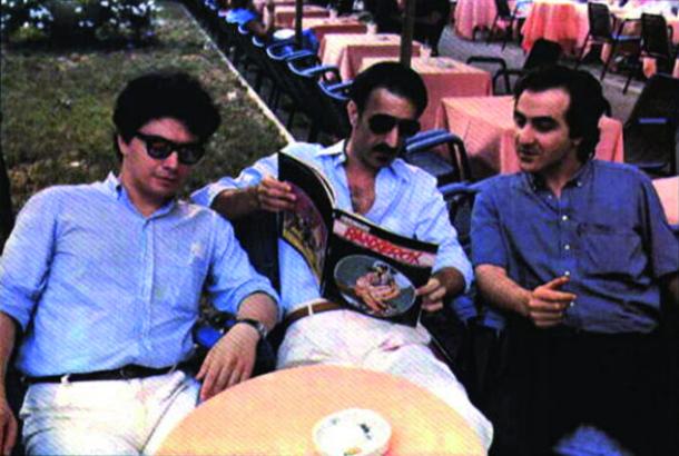 Stefano Tamburini, Frank Zappa e Tanino Liberatore