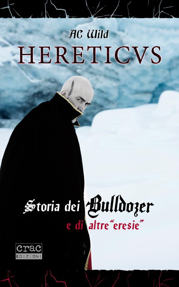 """La cover del libro """"Hereticus"""""""