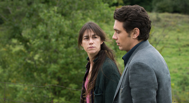 """""""Every Thing Will Be Fine """" di Wim Wenders. In foto Charlotte Gainsbourg e James Franco"""