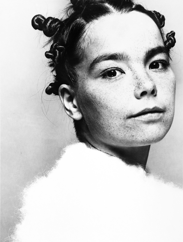 Björk, The Face, 1993 Credit: Photo by Glen Luchford