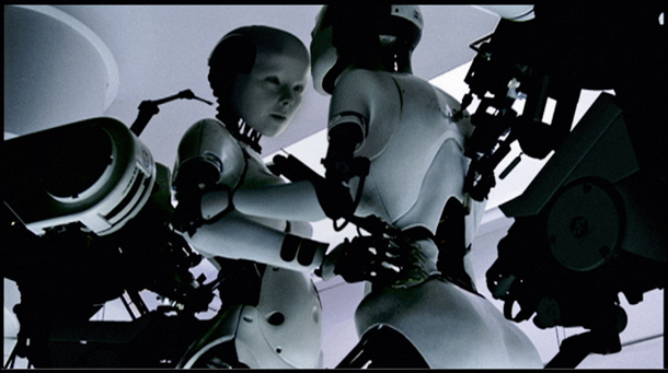 "Björk, Still from ""All Is Full of Love"" directed by Chris Cunningham, 1999. Credit: Courtesy Wellhart Ltd & One Little Indian."