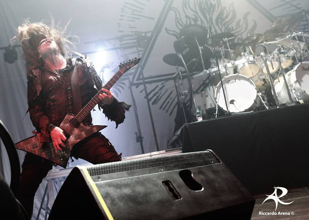 Behemoth all'Atlantico Live  ©  Riccardo Arena (www.riccardoarena.it/)