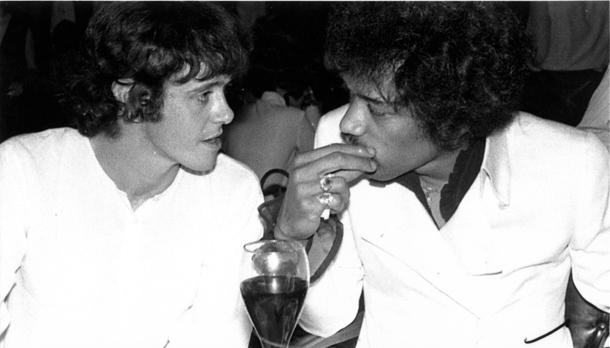 Donovan e Jimi Hendrix