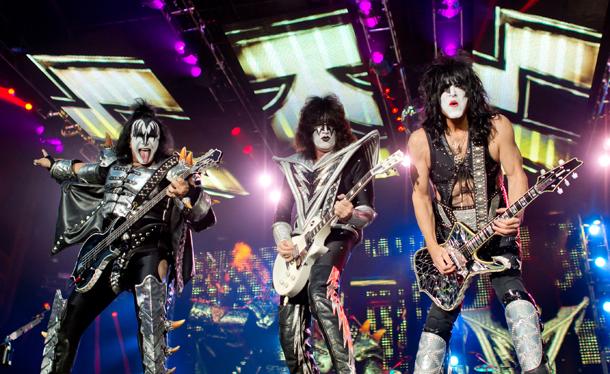 Kiss © AP Associated Press