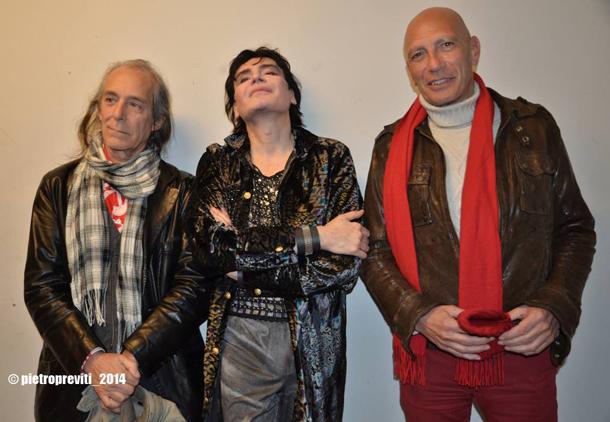 Lino Ajello, Gianni Leone e Gianni Stinga