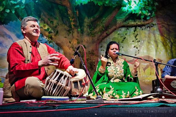 Anandita Basu in concerto a Mosca, 2015