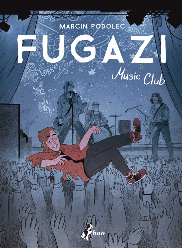 COVER FUGAZI MUSIC CLUB