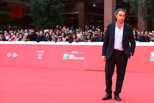 ROME, ITALY - OCTOBER 18: Paolo Sorrentino walks the red carpet during the 10th Rome Film Fest on October 18, 2015 in Rome, Italy. (Photo by Vittorio Zunino Celotto/Getty Images) *** Local Caption *** Paolo Sorrentino