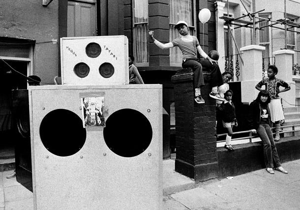 Notting Hill Carnival Sound System 1989 ©