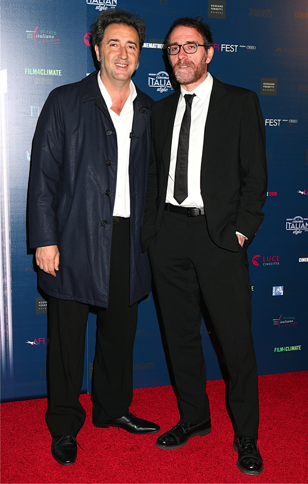 Valerio Mastandrea e Paolo Sorrentino © Kika Press