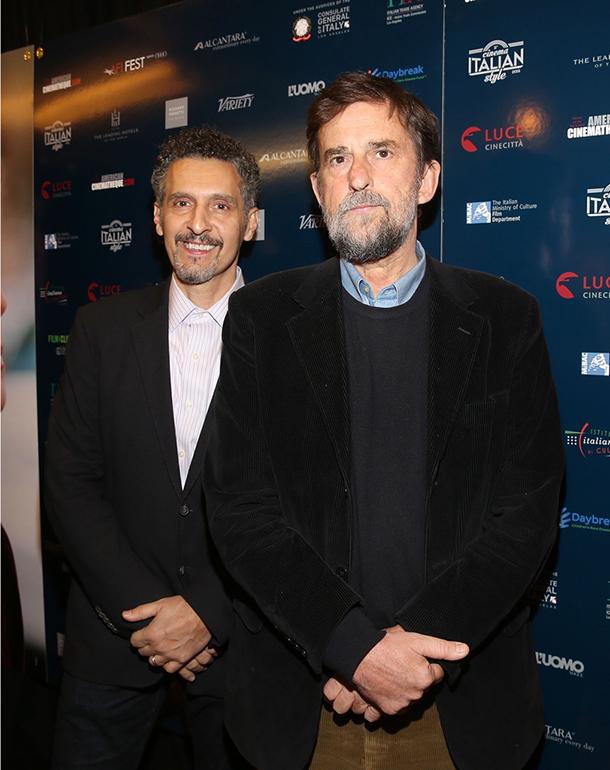 John Turturro e Nanni Moretti © Kika Press