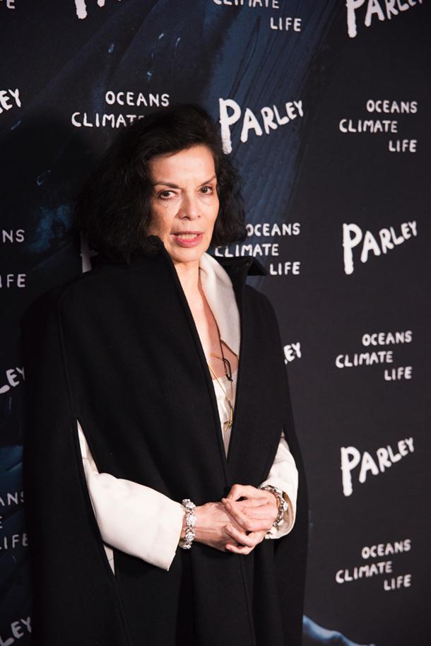 Bianca Jagger © Giacomo Cosua