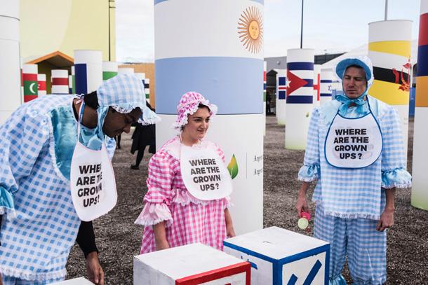 Protesta Avaaz © Giacomo Cosua