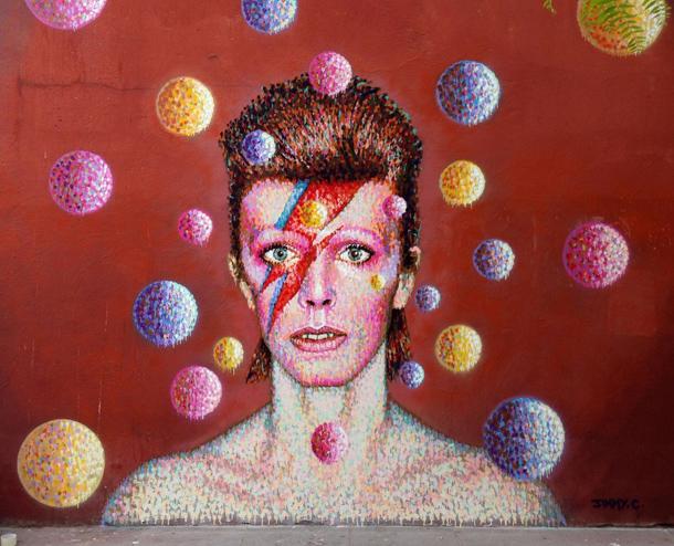 Il murales di Jimmy C. a Brixton, Londra