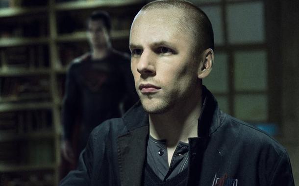 Jesse Eisenberg nei panni di Lex Luthor nel film
