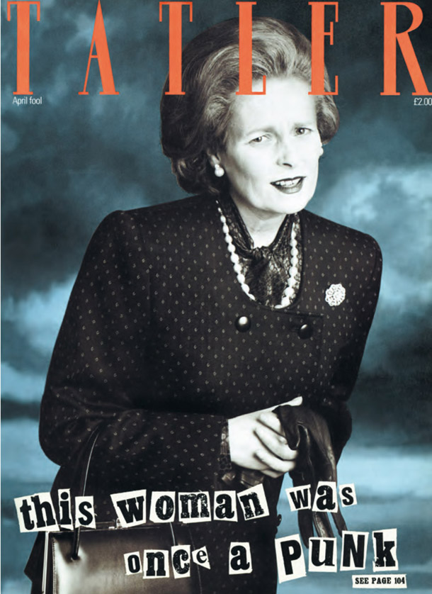 This Woman wa Once a Punk'. Mrs. T was not amused, 1989