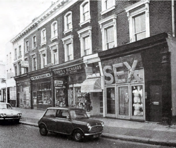430 King's Road, World's End, 1974
