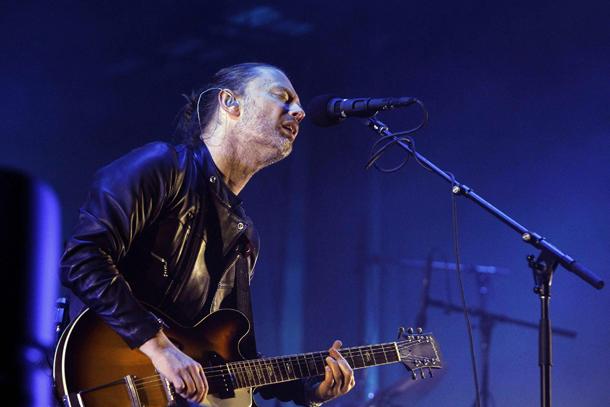 Radiohead, Thom Yorkw © EPA/MARTA PEREZ