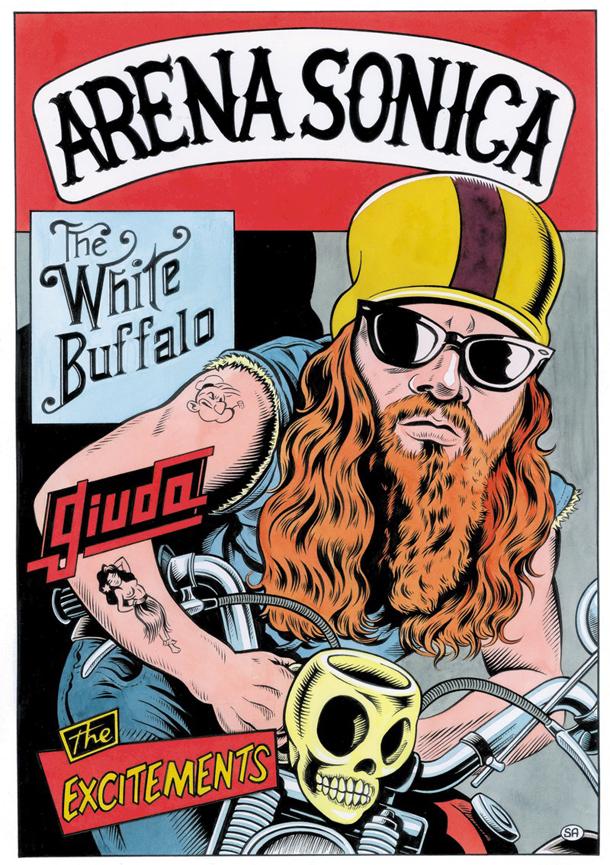 Il poster di ArenaSonica