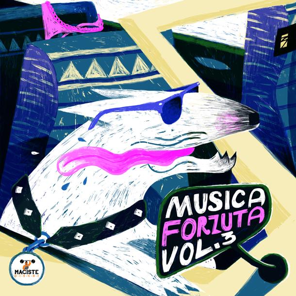 Maciste Dischi - Musica Forzuta vol. 3 - Cover by Marco Brancato