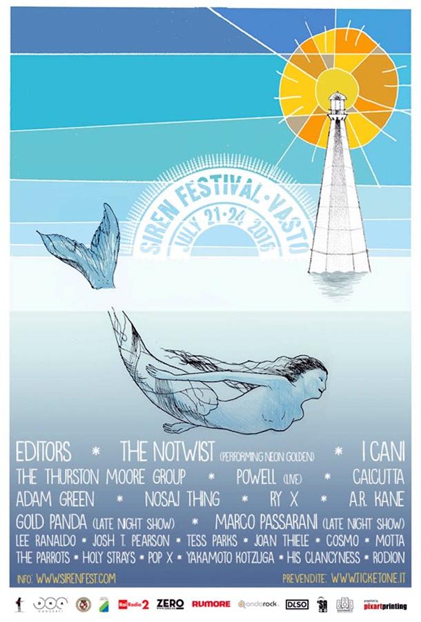 Il poster del festival