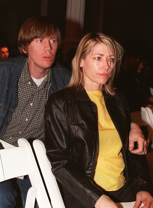 Thurston Moore e Kim Gordon New York April 7, 1997. AP Photo/Jim Cooper)