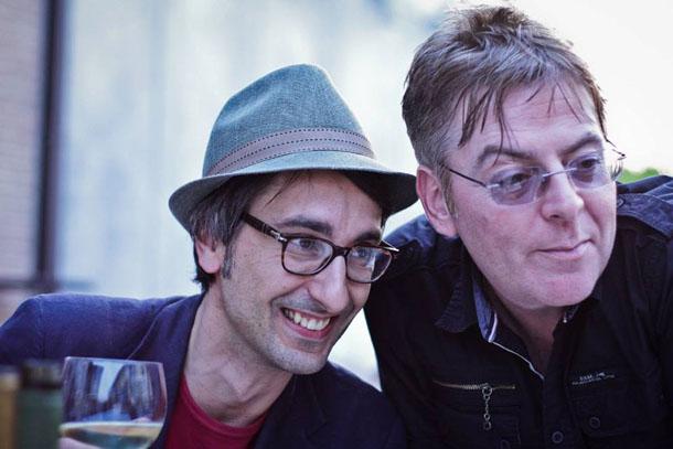 Jet Set Roger e Andy Rourke © Tulasi Da Prato