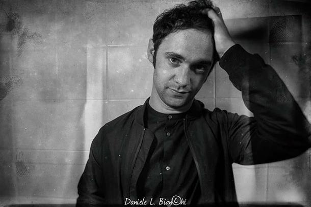 Cosmo nel backstage del concerto a Roma © Daniele L. Bianchi