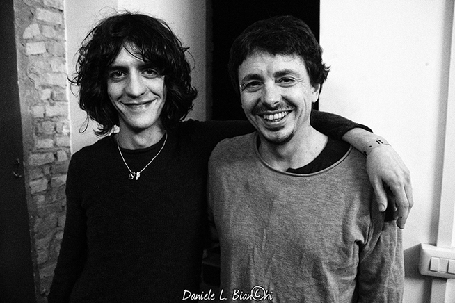 Francesco Motta e Riccardo Sinigallia © Daniele L. Bianchi