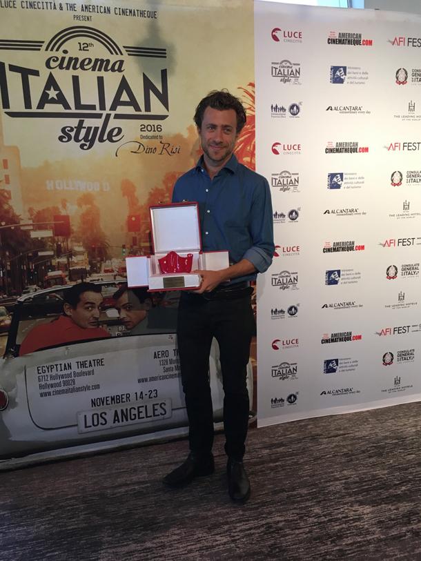 Carrozzini vincitore del Premio Venini
