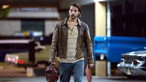 "Logan Marshall-Green stars in ""Quarry,"" premiering Friday on Cinemax."