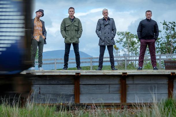 Ewen Bremner, Ewan McGregor, Jonny Lee Miller, Robert Carlyle © Sony Pictures Releasing GmbH
